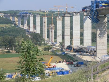 Talbrücke Köröshegy