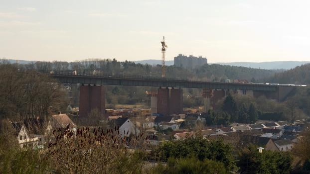 Viaduc sur la Lauter (A6)