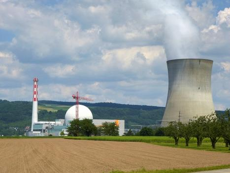 Leibstadt Nuclear Power Plant Cooling Tower