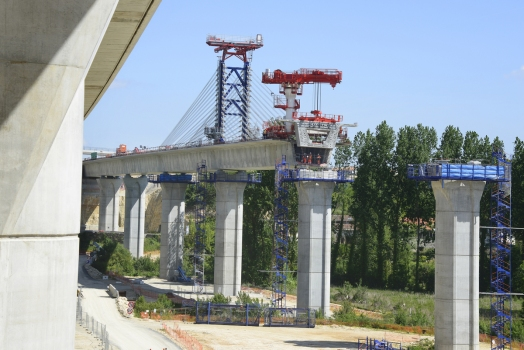 Viaduc de l'Auxance Est − Viaduc de l'Auxance Ouest, LGV Sud-Europe-Atlantique