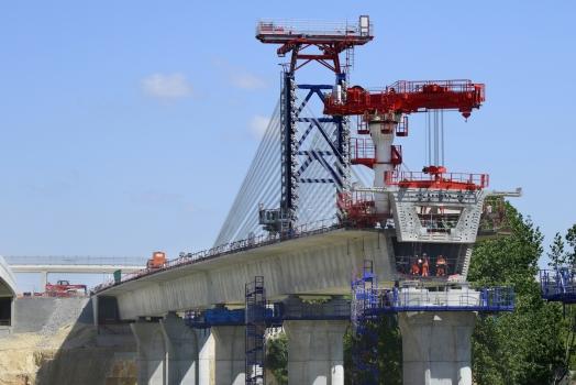 Viaduc de l'Auxance Est − Viaduc de l'Auxance Ouest, TGV Süd-Europa-Atlantik