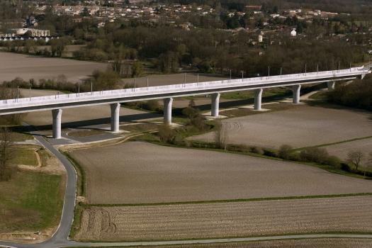 Viaduc de la Boëme − TGV Süd-Europa-Atlantik