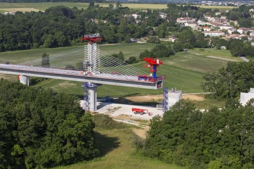 Viaduc de la Boëme − LGV Sud-Europe-Atlantique