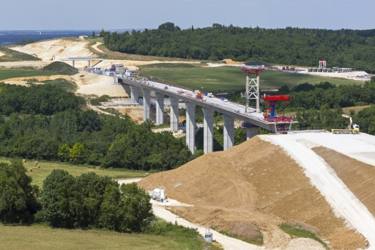 Viaduc du Claix − LGV Sud-Europe-Atlantique