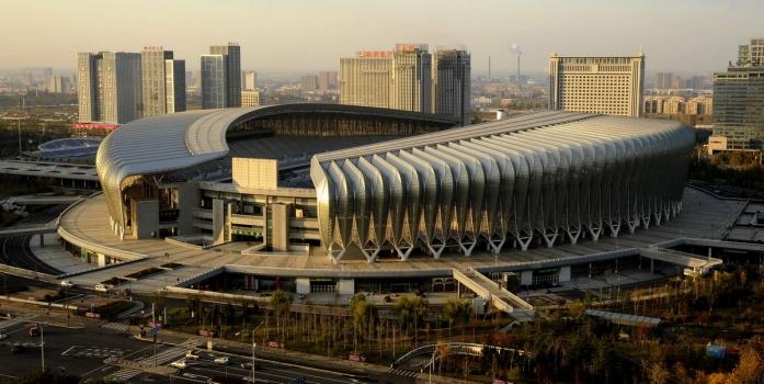 Stadion des Olympischen Sportzentrums Jinan