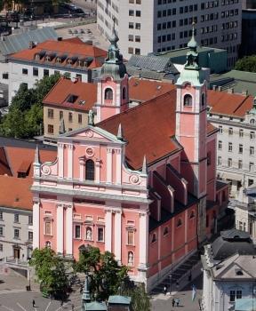 Église franciscaine de l'Annonciation de Ljubljana