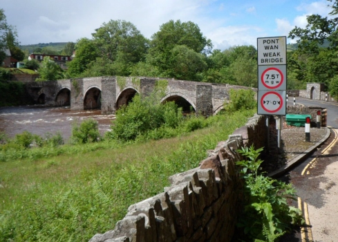 Llangynidr Bridge