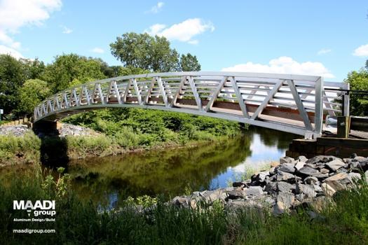 Coaticook Snowmobile Bridge