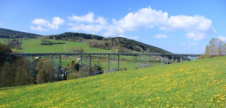 Eisenbahnviadukt Markersbach