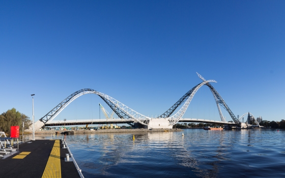 Matagarup Bridge