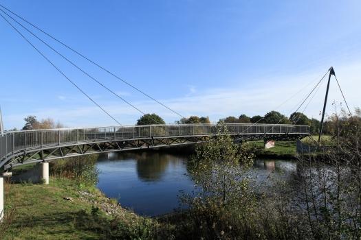 Geh- und Radwegbrücke Meppen