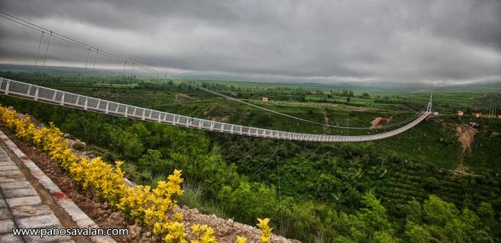 Meshginshahr Suspension Bridge