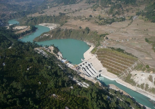 Middle Marsyangdi Hydroelectric Power Plant