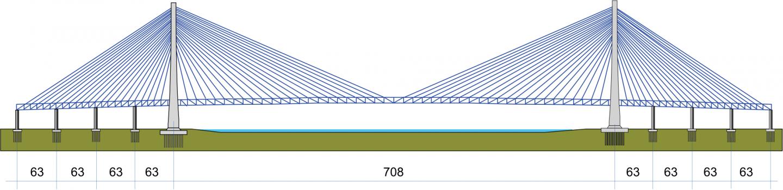 Élévation du pont de Minpu