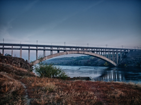 Pont Preobrazhensky (vieux Dniepr)