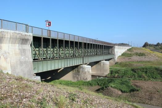 Pont-canal sur l'Ems