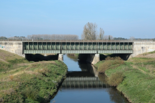 Canal Bridge over the Ems River