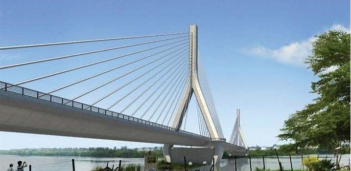 Neue Nilbrücke Jinja