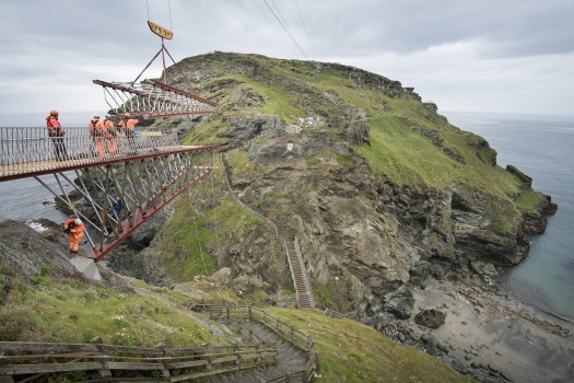 Tintagel Castle Bridge