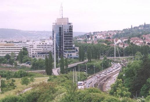 Fußgängerbrücken am Nordbahnhof, Stuttgart
