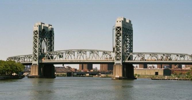 Triborough Bridge Harlem River Lift Span, New York.