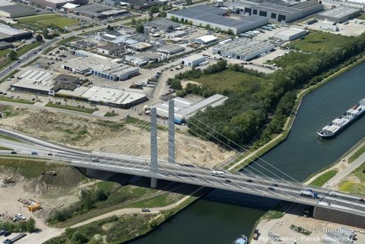 Übersicht fertiggestellte Brücke