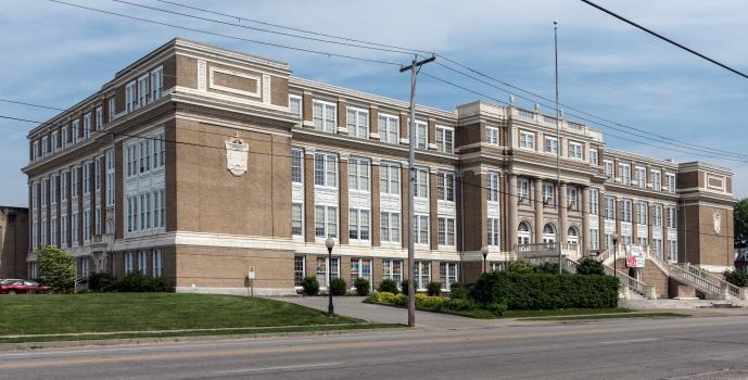 Old Huntington High School