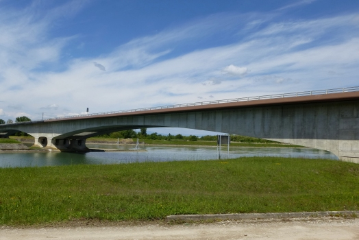 Pont sur le grand canal d'Alsace