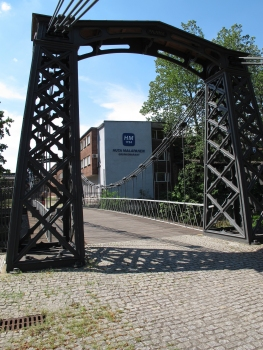 Ozimek Suspension Bridge