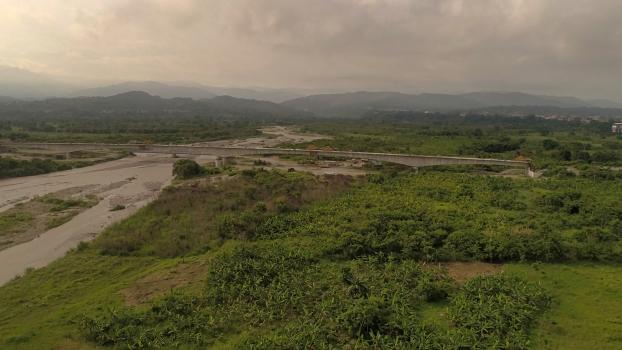 Deuxième pont sur le río Chama
