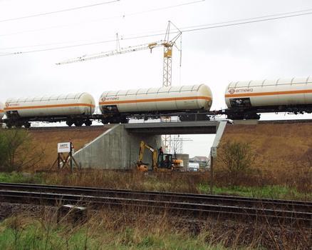 Passage supérieur ferroviaire pour InfraLeuna