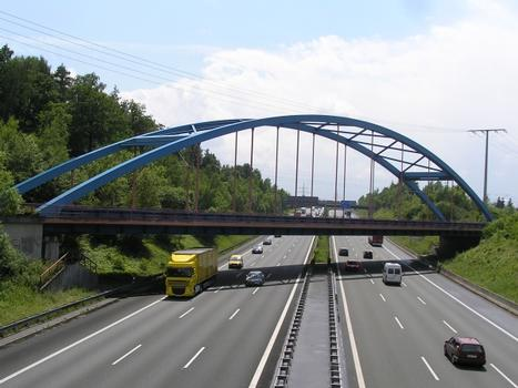 Lauf Railroad Bridge over the A9 (I)