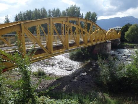 Ehemalige Talfer-Brücke der Bozen-Meran Bahn