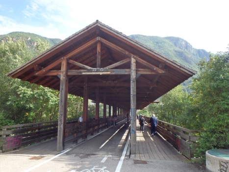 Gedeckte Brücke von Bozen