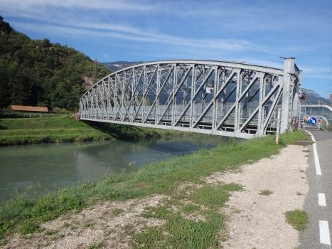 Passerelle sur l'Adige