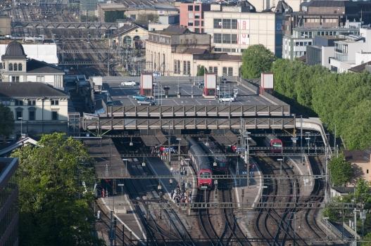 Parkhaus Bahnhof Winterthur
