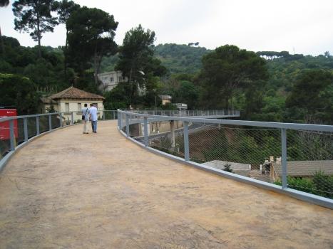 Cami Les Aigües Footbridge