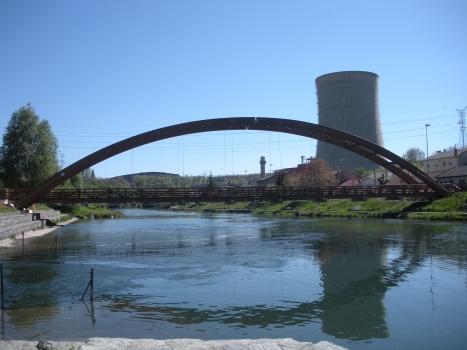 Geh- und Radwegbrücke Velilla del Rio Carrión