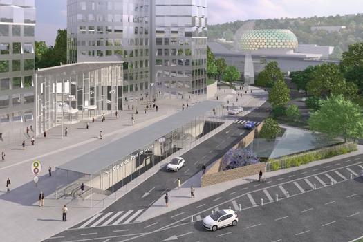 Pont de Sèvres Metro Station (Line 15)