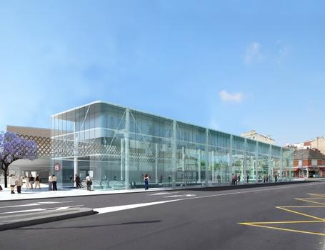 Villejuif - Louis Aragon Metro Station (Line 15)