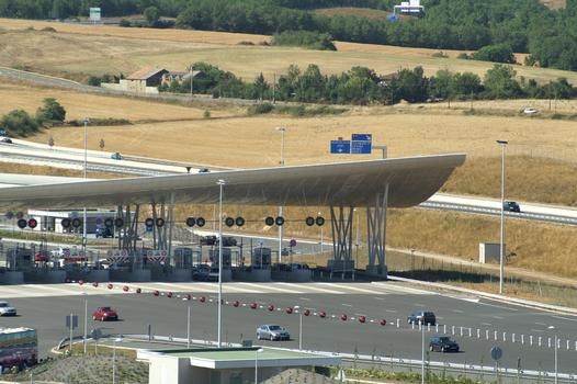 Millau Viaduct Toll Gate