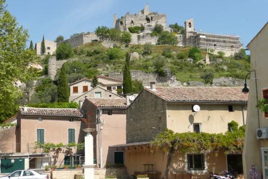 Burg Entrechaux