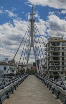 Fußgängerbrücke El Perelló