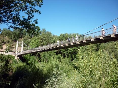Hängebrücke Peramola