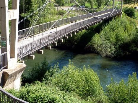 Pont suspendu de Peramola