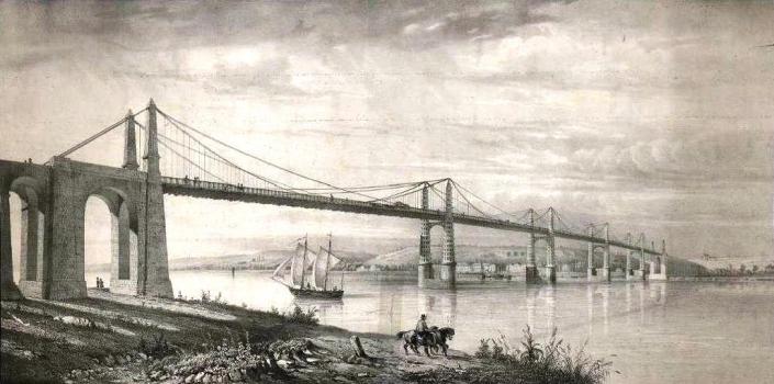 Cubzac Suspension Bridge