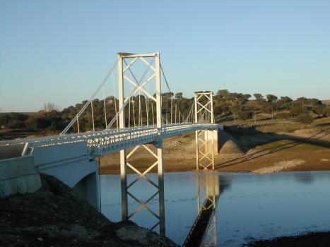 Pont suspendu d'Ervedal
