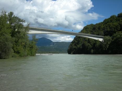 Tagliamentobrücke Pinzano