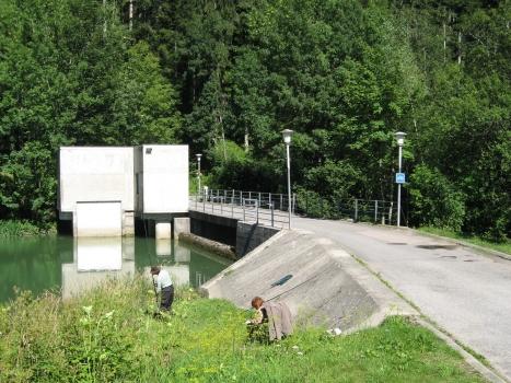 Le Pontet Dam