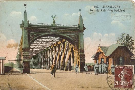 Strasbourg - Pont du Rhin